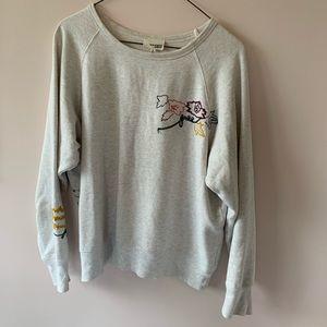 Wilfred embroidered sweatshirt